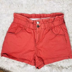 Wild Fable High Rise Paperbag Shorts